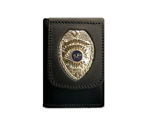 Portafoglio Portadocumenti con Placca Sicurezza Privata Vega Holster Italia Art.1WD48