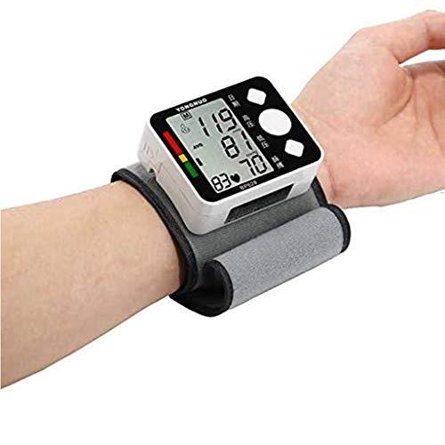 Pols Bloeddrukmeter Voor Thuis, Digitaal Lcd-Scherm Hartslag Hartslagmeter Tonometer Klinisch Nauwkeurig Snel Aflezen Hartslag Hartslagdetectie