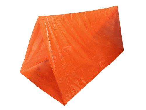 Fibega Survivalzelt/Ultraleicht Notzelt -Tube-, orange, 230cm