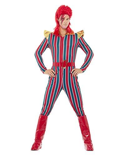 80er Jahre Popstar Mister Space Kostüm für Herren L