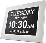 Digital Day Clock Large Calendar for Memory Loss Elderly Seniors Dementia Sufferers Alzheimer's Vision...