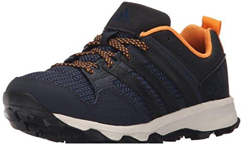 adidas Performance Kanadia 7 TR K Trail Laufschuh (kleines Kind/großes Kind), Blau (blau/schwarz/orange), 29