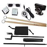 Aerodrums Air-Drumming - Batería eléctrica y trípode para cámara