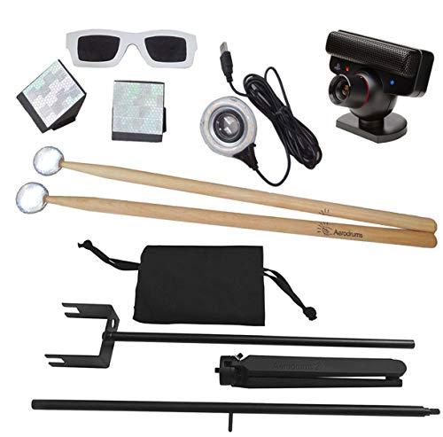 Aerodrums Air-Drumming Schlagzeug E-Drum + Kamerastativ Ständer für Kamera