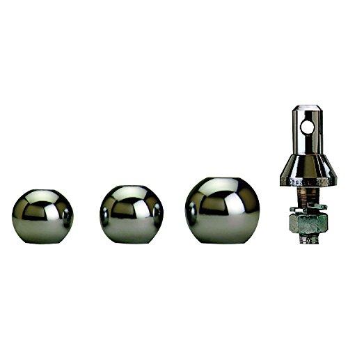 Convert-A-Ball 902B Stainless Steel Shank with 3 Balls - 1' - 0228.1263