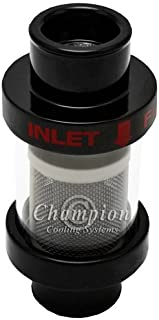 Champion Cooling Systems CCHFBLK-1.50 Inline Coolant Filter 1-1/2 Inlet/Outlet B