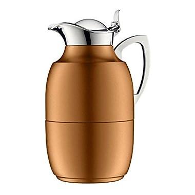 Alfi Juwel Lacquered Aluminum Copper 8 Cup Carafe