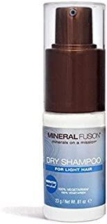 MINERAL FUSION Dry shampoo for light hair by mineral fusion, 0.81 oz, 0.81 Ounce