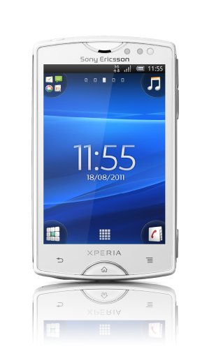 Sony Xperia mini 3' SIM singola 0.5GB Bianco