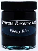 Private Reserve Ink Ebony Blue 50 ML Ink Bottle by Private Reserve