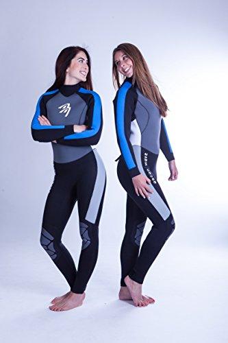 Ascan Neoprenanzug Surfanzug Thermo Wave 5mm !! SURF Kite Wake (48)