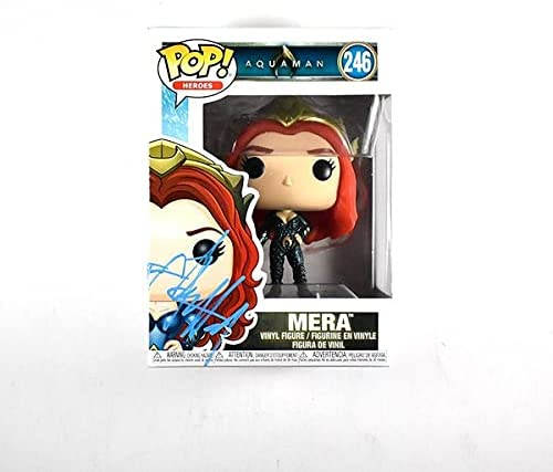 Ranking Max 69% OFF TOP10 Amber Heard Aquaman 246 Signed Pop Authentic Funko Certified Bec