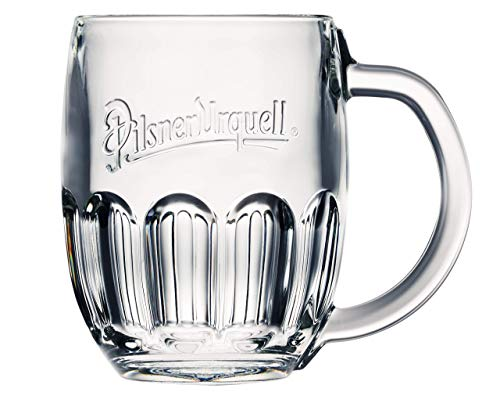 Pilsner Urquell 6 Stück Glas Gläser Halbliterglas 0,5l Bierglas Humpen Seidel Biergläser Tschechien