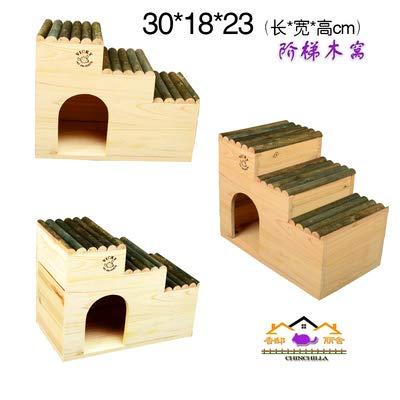 Willlly Maison d'hiver pour hérisson avec sol pour hérisson, jouet Totoro et hamster (couleur : 4, taille : 30 x 18 x 23)