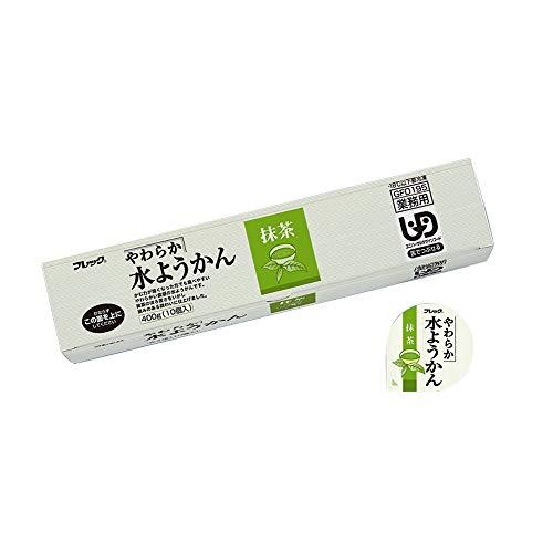 【冷凍】 味の素 やわらか水ようかん 抹茶 400g 和菓子