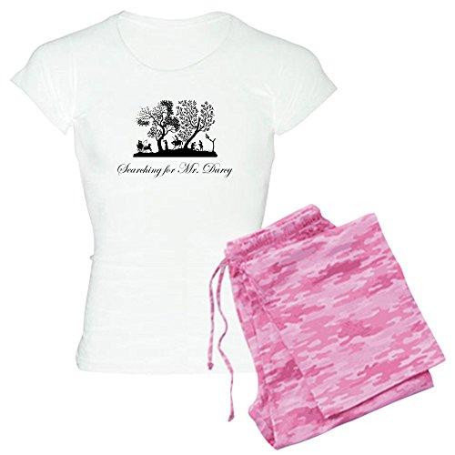 CafePress Mr Darcy Jane Austen Gift Womens Novelty Cotton Pajama Set, Comfortable PJ Sleepwear
