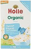 Holle Papilla de Muesli Multicereales con Maíz +10 Meses 100 g
