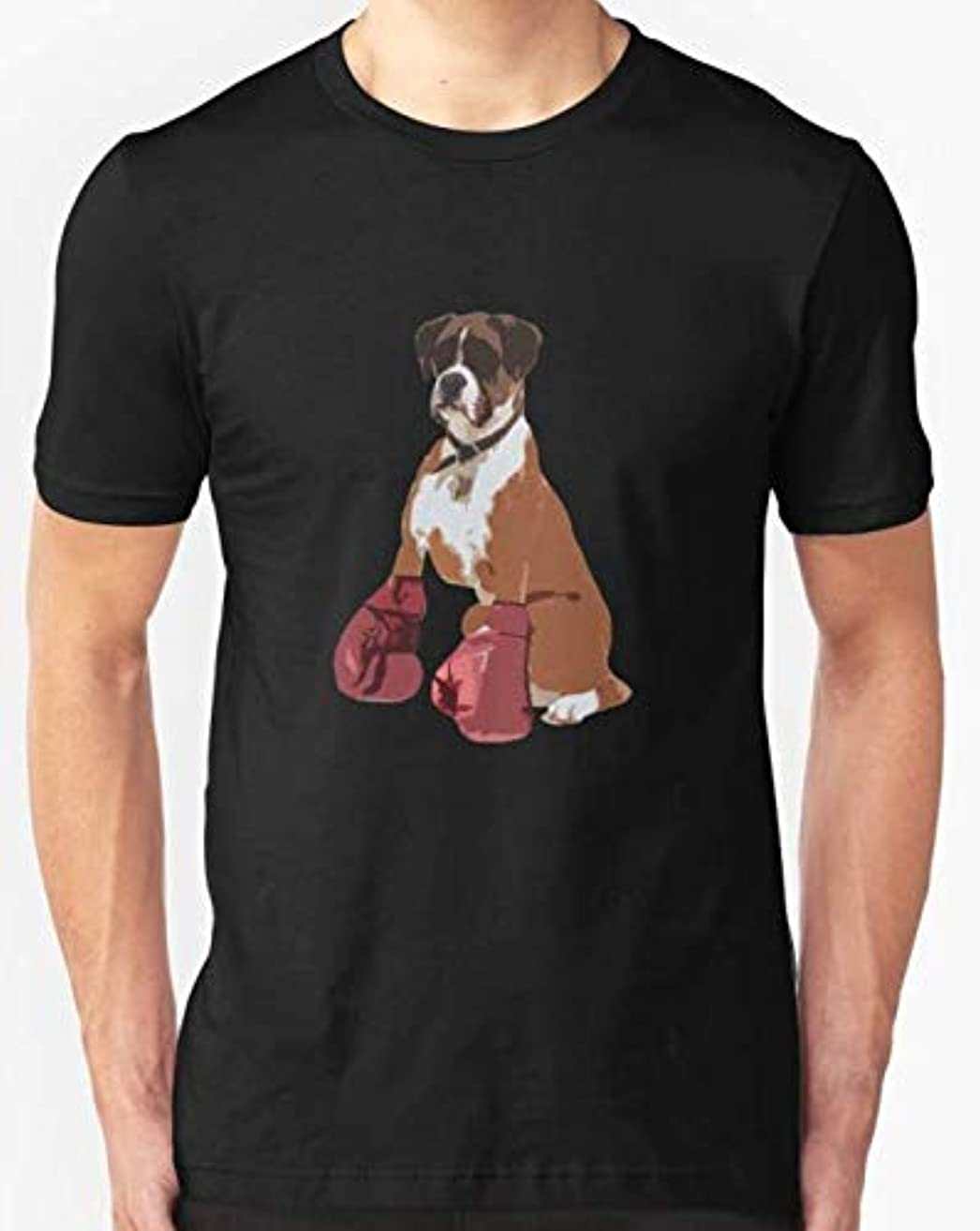 Boxer Dog Slim Fit T-Shirt For Man and Woman