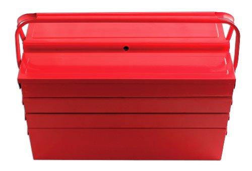 cassetta attrezzi 7 scomparti Laser 3486 - Cassetta degli attrezzi con 7 cassetti 430 mm