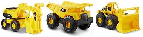 Cat Construction 7″ Dump Truck, Loader & Excavator toys Combo Pack