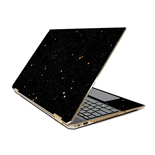 "MightySkins Skin Compatible With HP Spectre x360 15.6"" Gem-Cut (2019) - Deep Space 