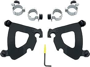 Memphis Shades Trigger-Lock Mounting Kit (Black/Gauntlet Fairing) for 10-15 Harley XL1200X