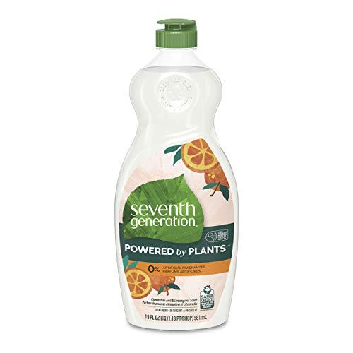 Seventh Generation Dish Soap Liquid Clementine...