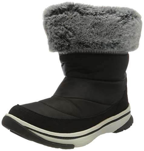 Roxy Damen INGA Snow Boot, Black, 37 EU