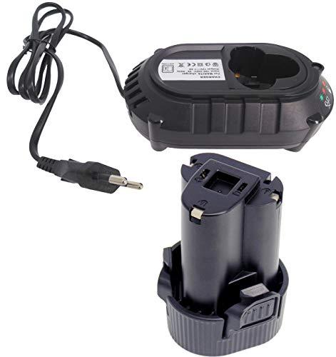 FengWings BL1013 10.8V 1.5Ah Reemplace la batería + cargador DC10WA Compatible con Makita BMR102 DMR104 BMR107 LXRM02 LXRM03 RMB100 DMR104 BMR10 DC10WB 194550-6 194551-4