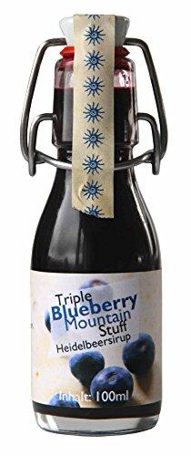 Feuer & Glas - Triple Blueberry Mountain Stuff Blaubeeren Sauce ( 100 ml )
