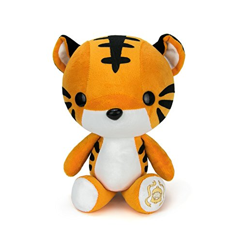 Bellzi Orange Tiger Cute Stuffed Animal Plush Toy - Adorable Soft Tiger Toy Plushies and Gifts - Perfect Present for Kids, Babies, Toddlers - Tiggri