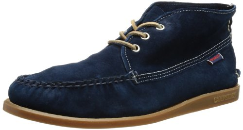 Sebago Campsides MID B694006, Herren Chukka Boots, Blau (Navy Suede), EU 42 (UK 8) (US 8.5)