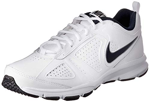 NIKE T-Lite 11, Zapatillas de Cross Training Hombre, Blanco (White/Black/Obsidian), 46 EU