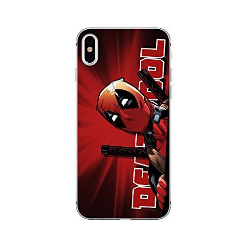 ERT GROUP Original Marvel Deadpool TPU Case for iPhone X, iPhone XS, Liquid...