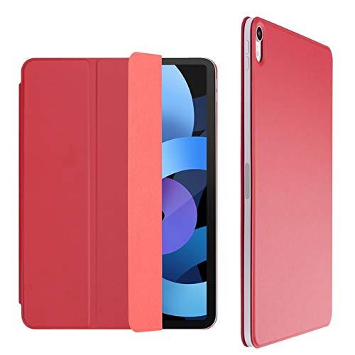 GHC Pad Fundas & Covers para Funda para iPad Air 2020 para iPad Air 4 Case 10.9 2020, Funda magnética Auto Sleep/Wake Smart Cover para iPad Pro 11 2018 2020 (Color : Red, Talla : Air 4 10.9 2020)