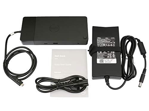 Dell WD19 USB-C port replikator incl. 130W ac-adapter suitable Latitude 12 (7280) series