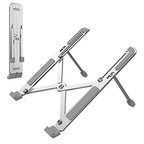 Eternitry Tablet soporte plegable aleación de aluminio plata Tablet montado titular cama portátil soporte para oficina sofá cómodo trabajo