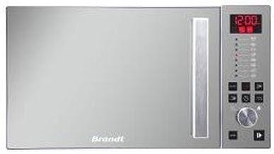 Brandt GE2626W Encimera - Microondas (Encimera, Microondas combinado, 26 L, Botones, Blanco, 1000 W)