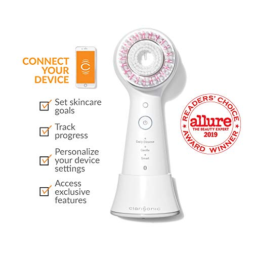 Clarisonic Mia Smart Sonic Facial Cleansing Brush, Use for Exfoliating, Anti-Aging and Makeup Blending
