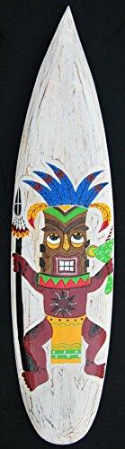 Surfboard 100cm zum Aufhängen Tiki Dancer Holzschild Kneipen Deko Hawaii Surfbrett