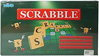 Nilco Classic Scrabble Crossword Board Game - Green
