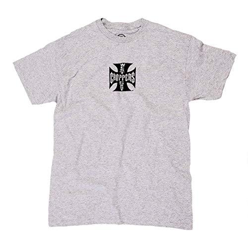 WEST COAST CHOPPERS Camiseta para hombre OG ATX Grey/Black Print XXXXL