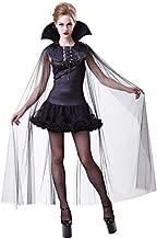 Damen Vampirkostüm Gräfin Barock Kleid Vampirin Kostüm Halloween Baronin M 40//42