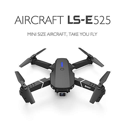 Naugust Drone Gps Ls-E525 Plegable Cámara 4K Uhd para Adultos Drones de Juguete Rc Anticolisión de Flujo Óptico para Niños Y Adultos