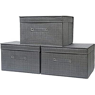 Amazon - 50% Off on Clothes Storage Bag, Foldable Storage Bins Organizer with Lid