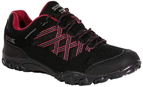 Regatta Women s Lady Edgepoint II Walking Shoe, Black (Blk Beaujols 9tw), 5 UK