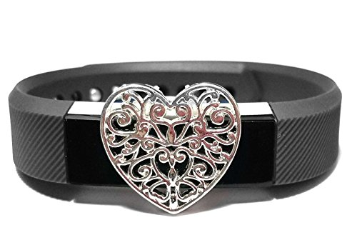 all4fit Fashion Fitness Band Bling Jewelry Accessory Charm for Fitbit Alta Fitness Tracker (ONLY Bling Accessory, No Bands, NO Trackers)