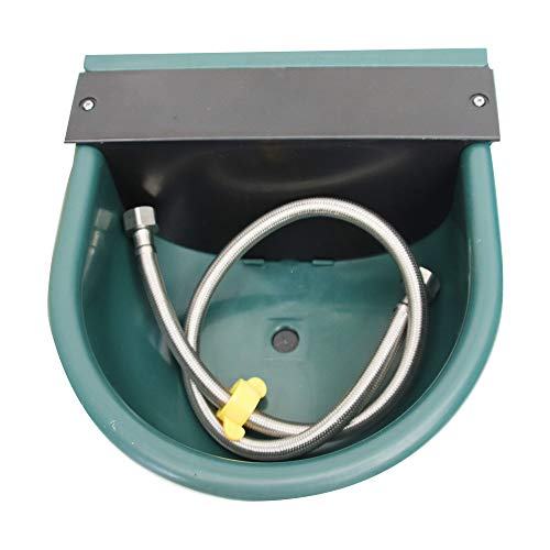 YOUMU Automatic Water Bowl Plastic Livestock Waterer for Horse Cattle
