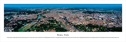Rome, Italy - Forum - Blakeway Panoramas Unframed Skyline Posters