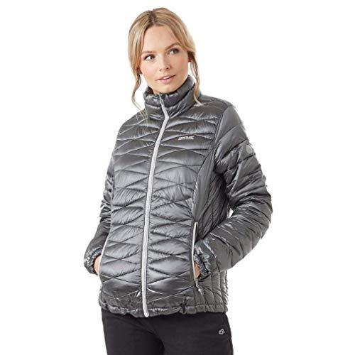 Regatta Women's Metallia Lightweight Water Repellent Insulated Jacket, Rock Grey, Size 10